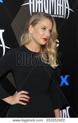LOS ANGELES - AUG 28:  Ellen Woglom at the ABC and Marvel's