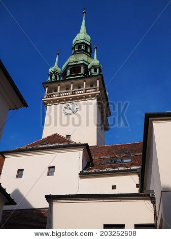 Old town hall in Brno South Moravia Czech republic