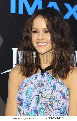 LOS ANGELES - AUG 28:  Isabelle Cornish at the ABC and Marvel's