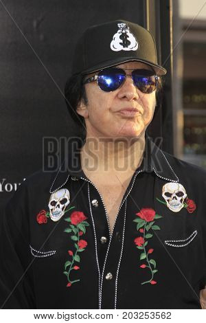 LOS ANGELES - SEP 5:  Gene Simmons at the