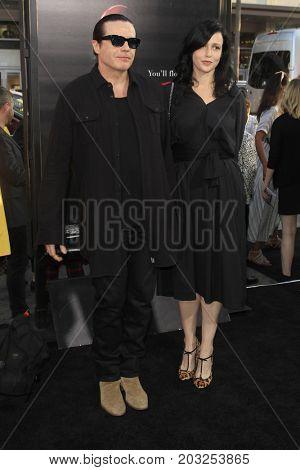 LOS ANGELES - SEP 5:  Ian Astbury, Aimee Nash at the