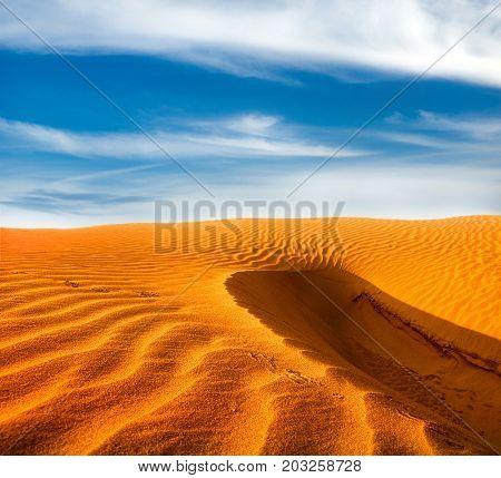 sand desert landscape