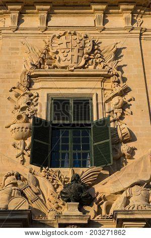 Auberge De Castille. Valletta, Malta