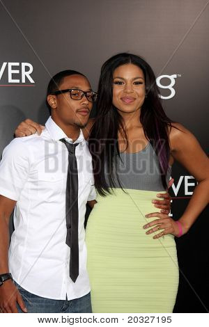 """LOS ANGELES - MAY 19:  Romeo, Jordin Sparks arriving at the """"The Hangover Part II""""  Premiere at Grauman's Chinese Theater on May 19, 2011 in Los Angeles, CA"""