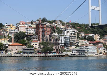 Buildings In Istanbul City, Turkey