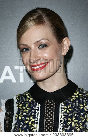 NEW YORK - MAY 23: Beth Behrs attends the AMC's 'Feed The Beast' premiere on May 23, 2016 in New York City.