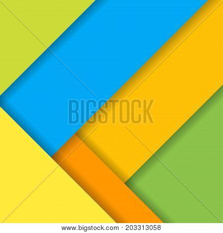 Background modern material design. Vector colorful Illustration.