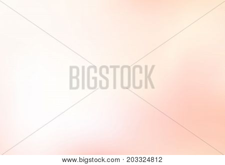 Abstract blurred soft focus of bright pink color background concept copy space Vector illustration