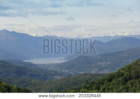 Photo of Panorama of Lake Maggiore in Varese