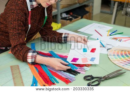Clothing Manufacturer Company Female Employee