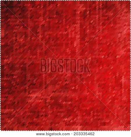 red squares. red rectangles. abstract blood background. scarlet grunge texture. halftone effect. vector illustration