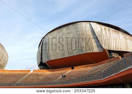 Auditorium Parco Della Musica In Rome, Italy