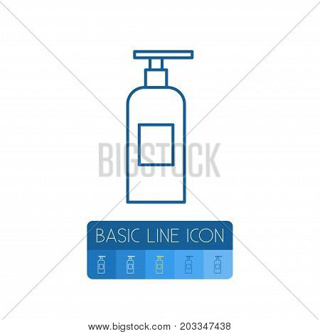 Fire Safety Vector Element Can Be Used For Extinguisher, Fire, Safety Design Concept.  Isolated Extinguisher Outline.