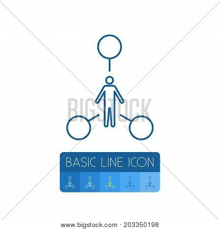 Tasks Vector Element Can Be Used For Human, Tasks, Talent Design Concept.  Isolated Human Outline.
