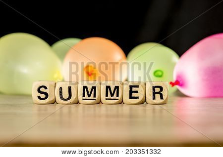 Summer With Water Ballons