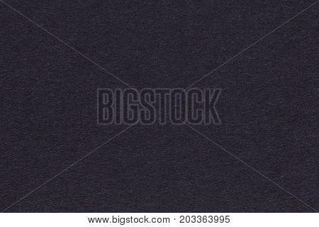 Paper texture background. Dark blue color. Fine arts paper. High resolution photo.