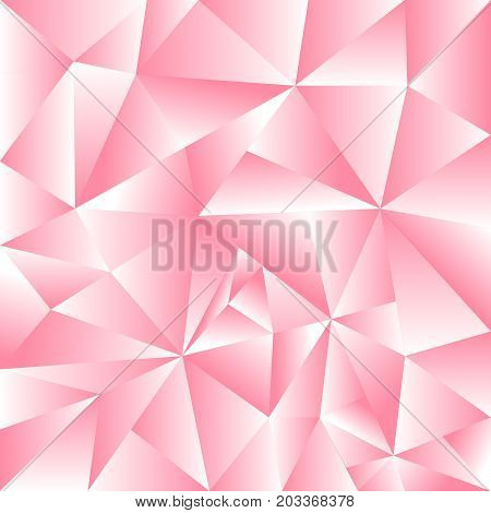 Abstract beautiful background pink triangle use as background or wallpaper.