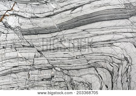 Black and white marble patterned texture background. High resolution photo.