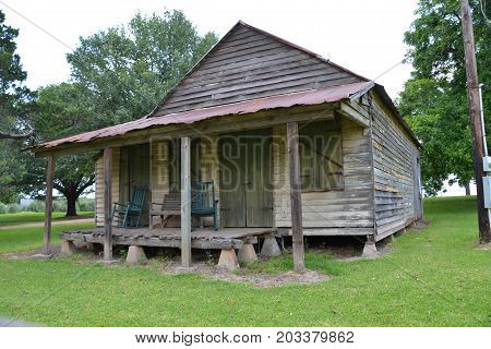 quarters located on an old Louisiana plantation