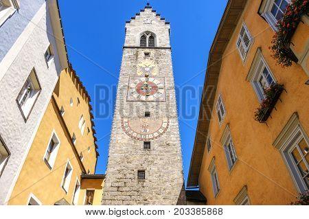 Vipiteno Sterzing bell tower clock - Alto Adige - Italy