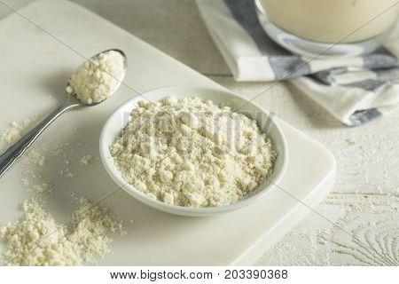 Organic White Vanilla Protein Powder