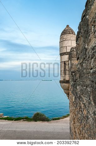 The fortress of Yeni-Kale, Russia, the Crimea, the city of Kerch.
