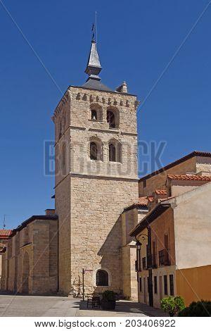 Santa Maria Church In Aranda De Duero, Burgos Province, Spain