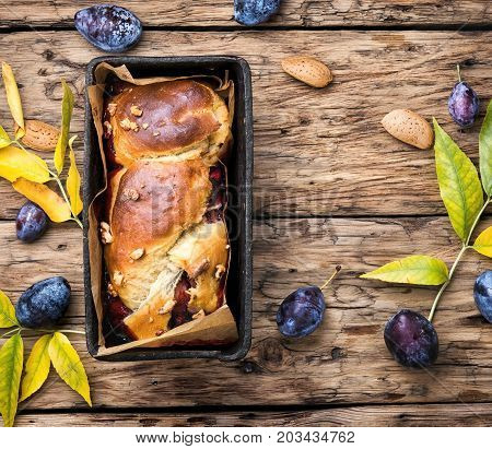 Brioche With Plum