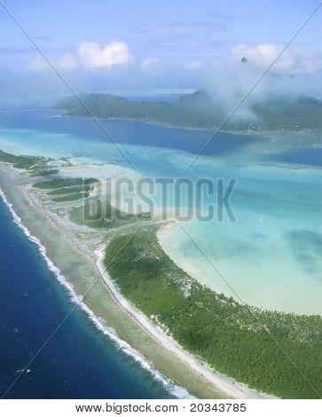 Bora Bora Lagoon in the French Polynesia