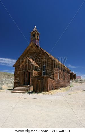 Church in Bodie, Ghost Town, California