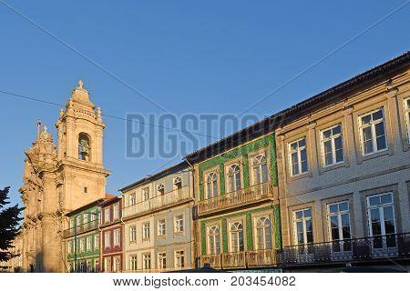 Igreja Dos Congregados, Avenida Central, Braga, Portugal