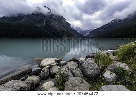 the Lake Louise in Banff National Park