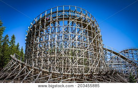 photo of rollercoaster  from Finland . .