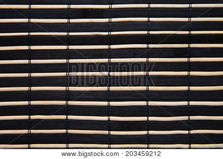 fragment of the ancient riveted panel from the painted wooden boards with silvery white slanting striped pattern