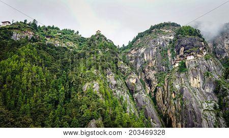 Paro Taktsang (tiger Nest) In Bhutan