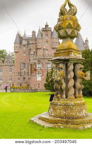 Scotland - August 2014 :glamis castle scotland The castle is famed as being the childhood home of Her Majesty Queen Elizabeth The Queen Mother