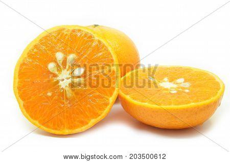 Mandarin Oranges With Segments