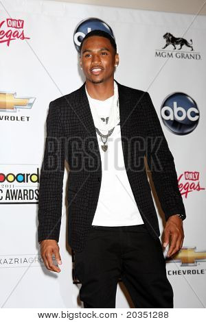 LAS VEGAS - MAY 22:  Trey Songz in the Press Room of the 2011 Billboard Music Awards at MGM Grand Garden Arena on May 22, 2010 in Las Vegas, NV.