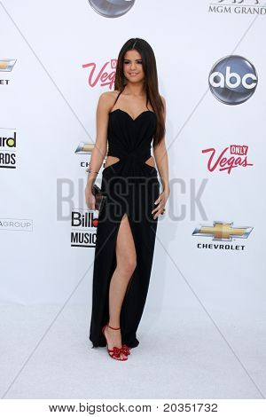 LAS VEGAS - MAY 22:  Selena Gomez arriving at the 2011 Billboard Music Awards at MGM Grand Garden Arena on May 22, 2010 in Las Vegas, NV.