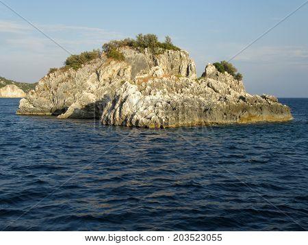 Island in the Ionian Sea, near Parga, Greece