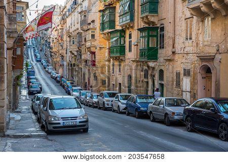 Parking In Valletta Narrow Streets