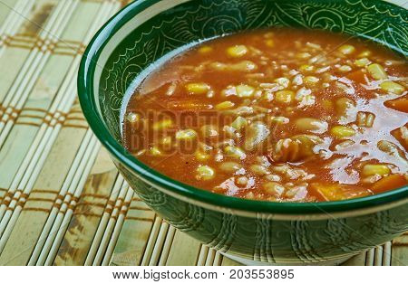 Dirty Rice And Beans Soup