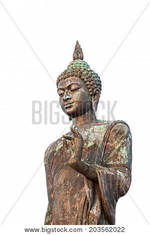 buddha statue in buddha monthol important buddhist place of thailand