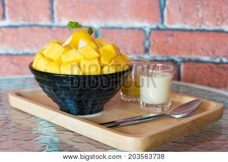 Bingsu ( Korea Food)