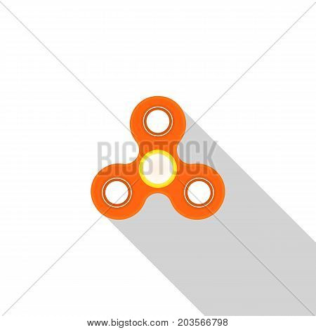 Toy spinner to relieve stress. Vector illustration .
