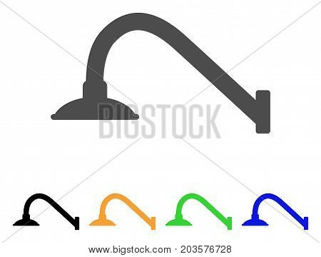 Tap Mixer icon. Vector illustration style is a flat iconic tap mixer symbol with black, grey, green, blue, yellow color variants. Designed for web and software interfaces.