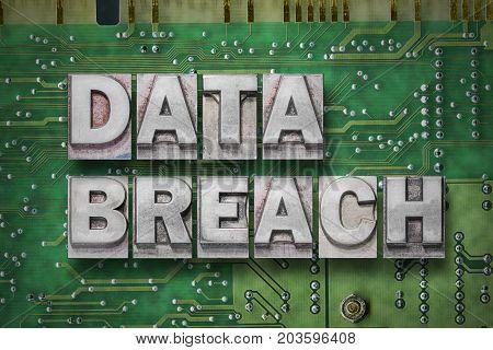 Data Breach - Pc Board