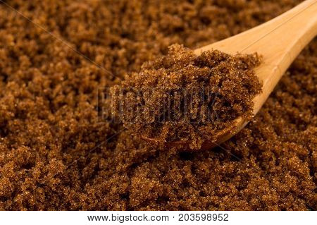 Brown Sugar In Spoon