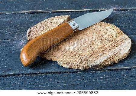 Classic Portuguese Knife. Folding Knife.