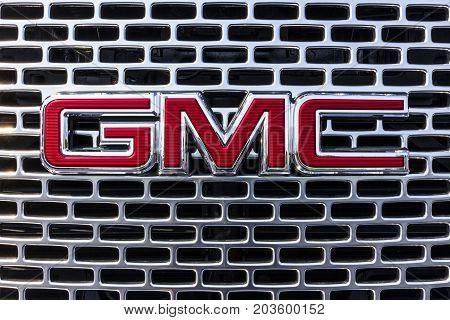 Kokomo - Circa September 2017: GMC and Buick Truck and SUV dealership. GMC and Buick are divisions of GM I